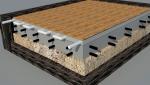 Фундамент (Мелко-заглубленный монолитный - плита) + теплый пол+ финишное покрытие + работа