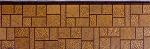 Панель облицовочная unipan Г1 цвет : ag5-005 Размер 3800x380x16 мм S=1.444 м2 (+18% ндс)