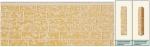 Панель облицовочная unipan Г1 цвет ae2-004 3800x380x16