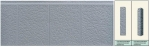 Панель облицовочная unipan Г1 цвет ah4-001 3800x380x16 мм S1444 м2