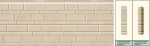 Панель облицовочная unipan Г1 цвет ae1-001 3800x380x16 мм S1444 м2