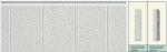 Панель облицовочная unipan НГ цвет ai4-001 3800x380x16 мм