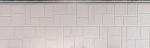 Панель облицовочная ханьи Г2 цвет ae5-001 3800x380x16 мм