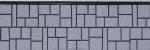 Панель облицовочная unipan Г1 цвет zbh5-139 3800x380x16 мм крошка